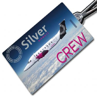Silver Airways B1900D Tag
